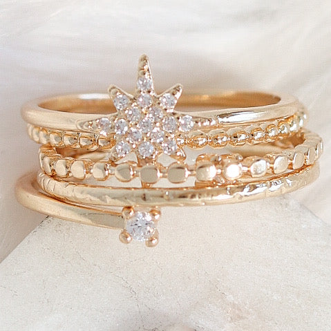 The Star Ring Set