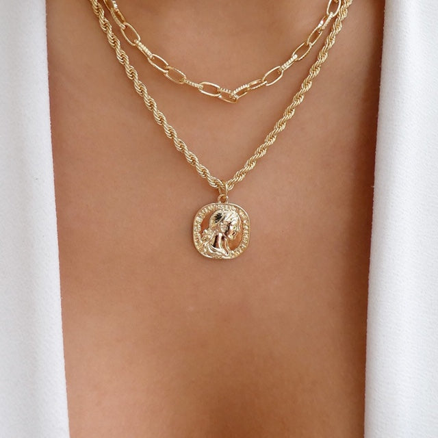 Becky Coin Necklace