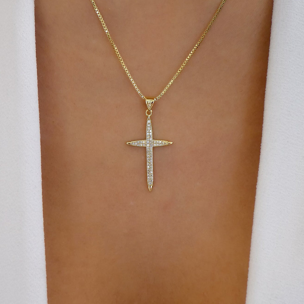 Marshall Cross Necklace