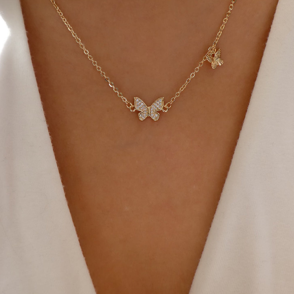 Ariel Butterfly Necklace