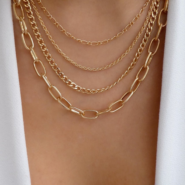 Edwin Chain Necklace Set