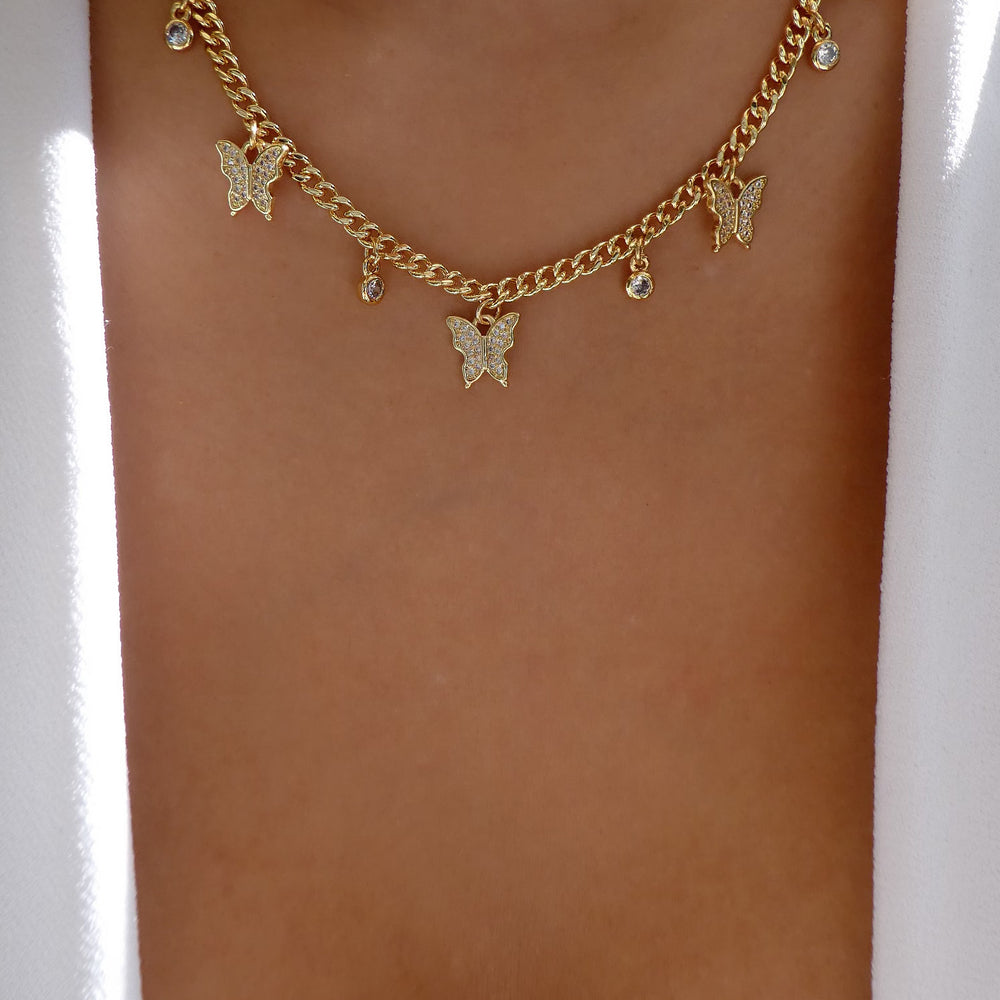 Nikita Butterfly Necklace