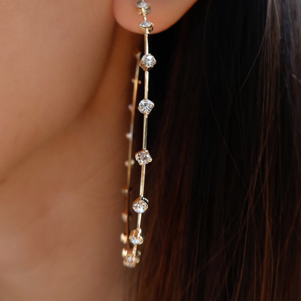 Crystal Nealy Hoops