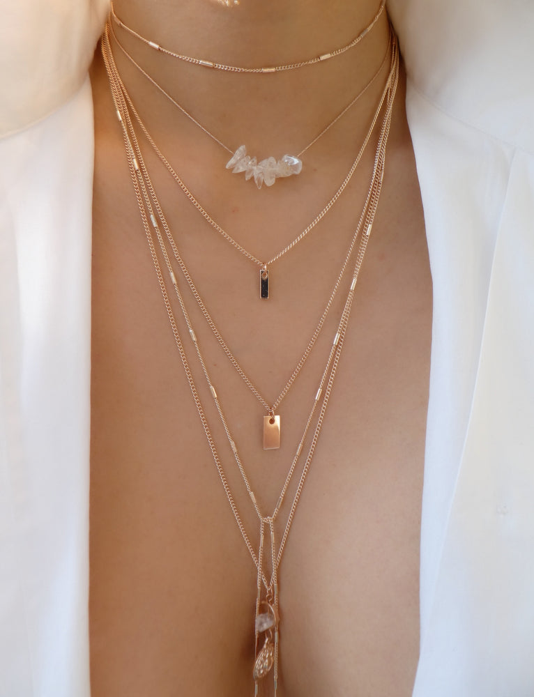 Rose Gold Maguire Necklace