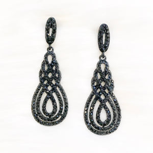 Black Divinity Earrings
