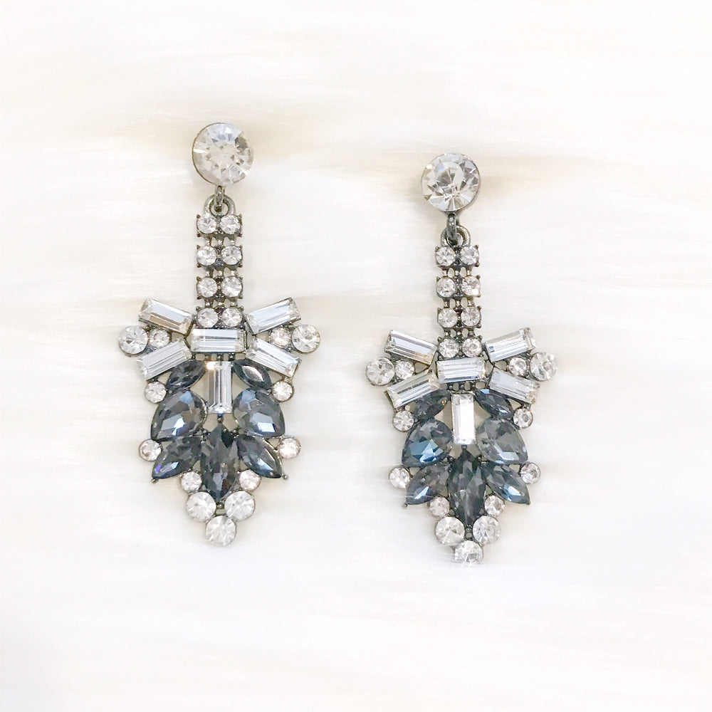 Gray Fiona Earrings