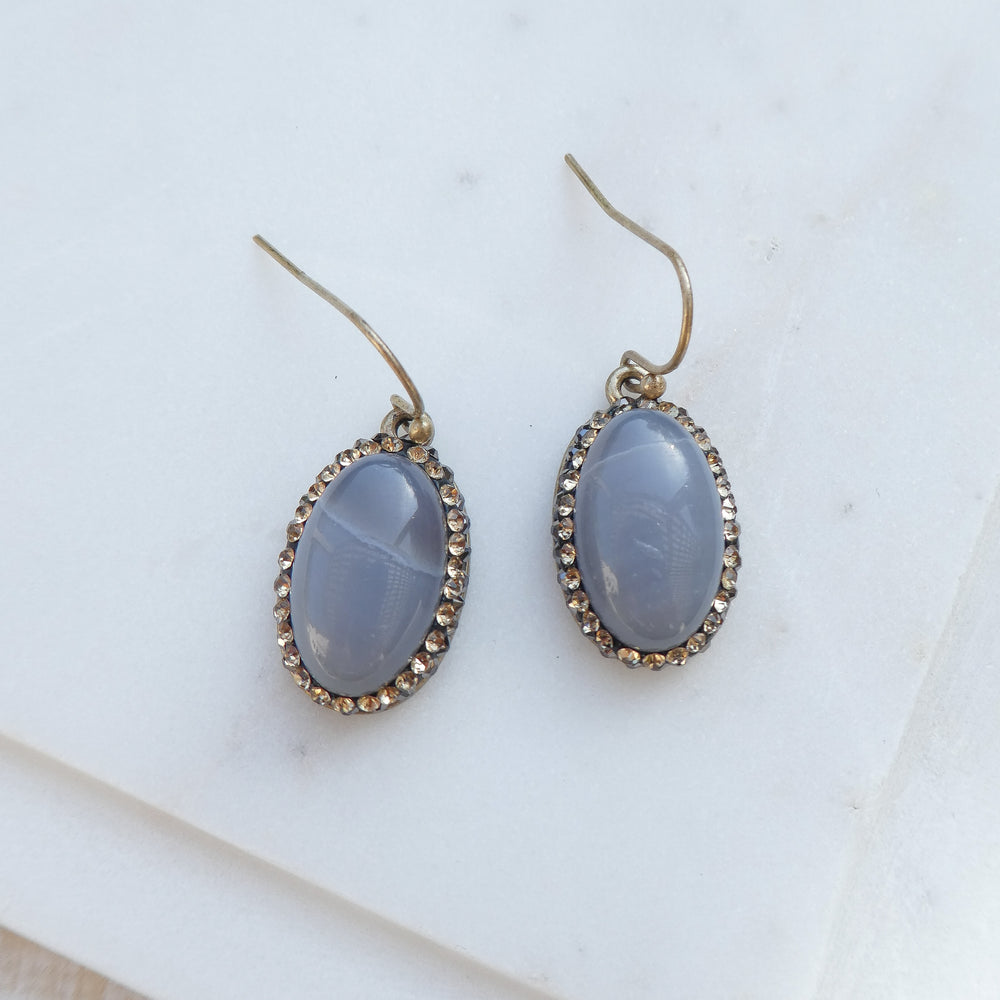 Gray Ariette Earrings