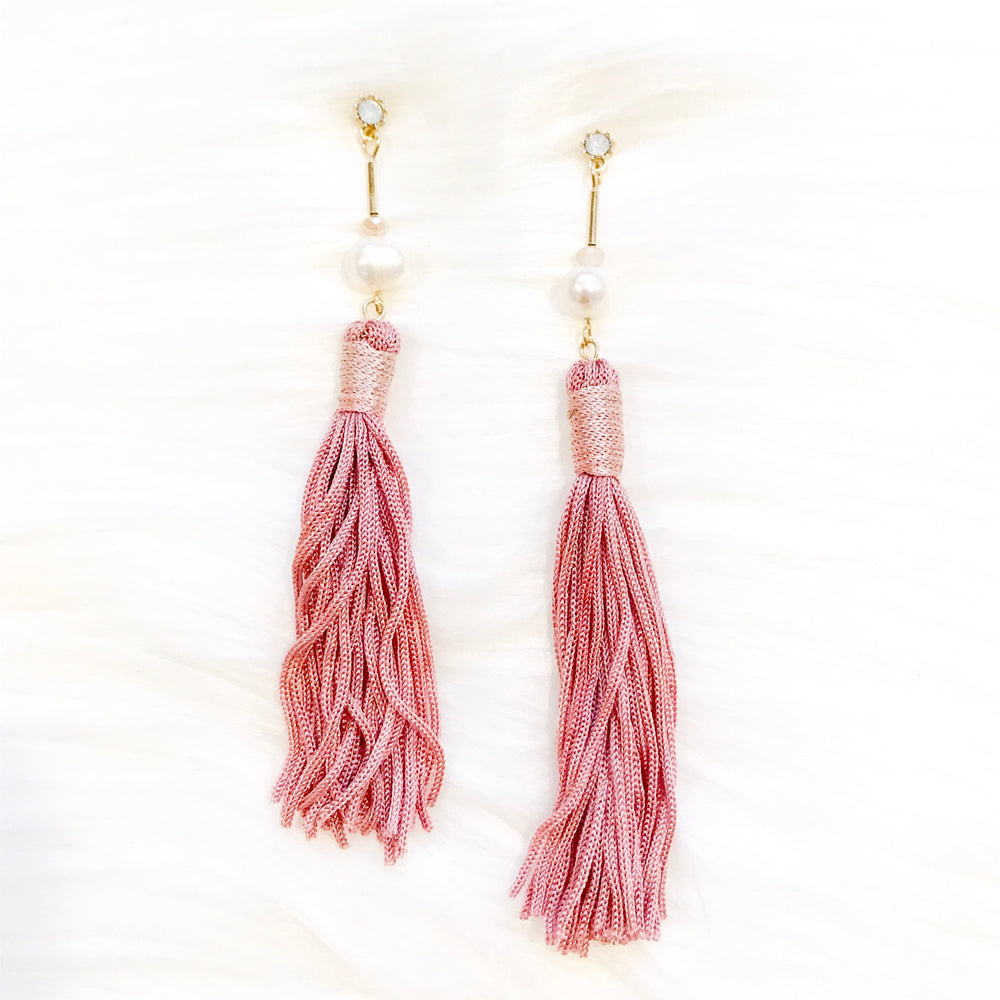 Pink Neda Earrings