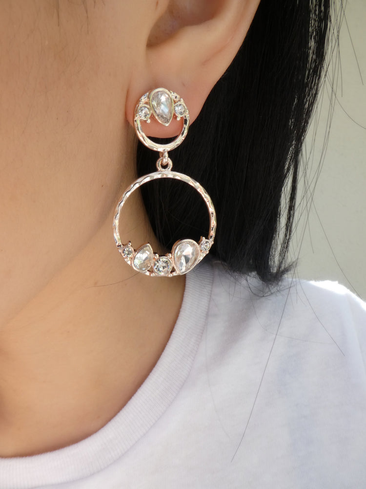 Rose Gold Danielle Earrings