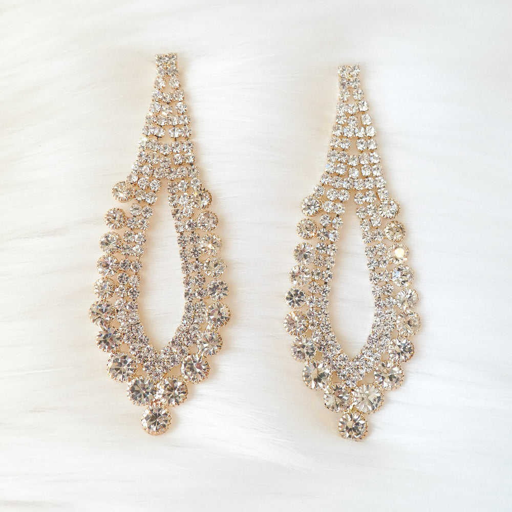 Crystal Arianna Earrings
