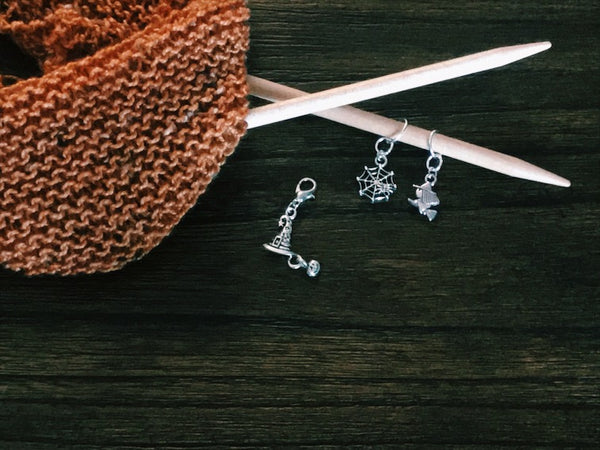 Witch Necessities - Progress Keeper/Stitch Marker Set - The Handmaker's Bag