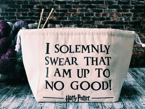 Harry Potter I Solemnly Swear I Am Up To No Good - Road Trip Bag - The Handmaker's Bag
