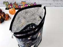 Load image into Gallery viewer, Grab n' Go Bag:  Wicked Drawstring Project Bag - The Handmaker's Bag