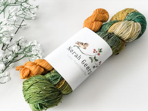 Norah George Yarns Sock Set Frodo Baggins - The Handmaker's Bag