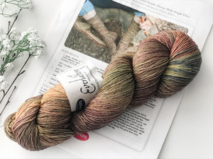 Dream In Color Yarn Everlasting Sock October 2013 Dream Club Includes Free Sock Pattern - The Handmaker's Bag