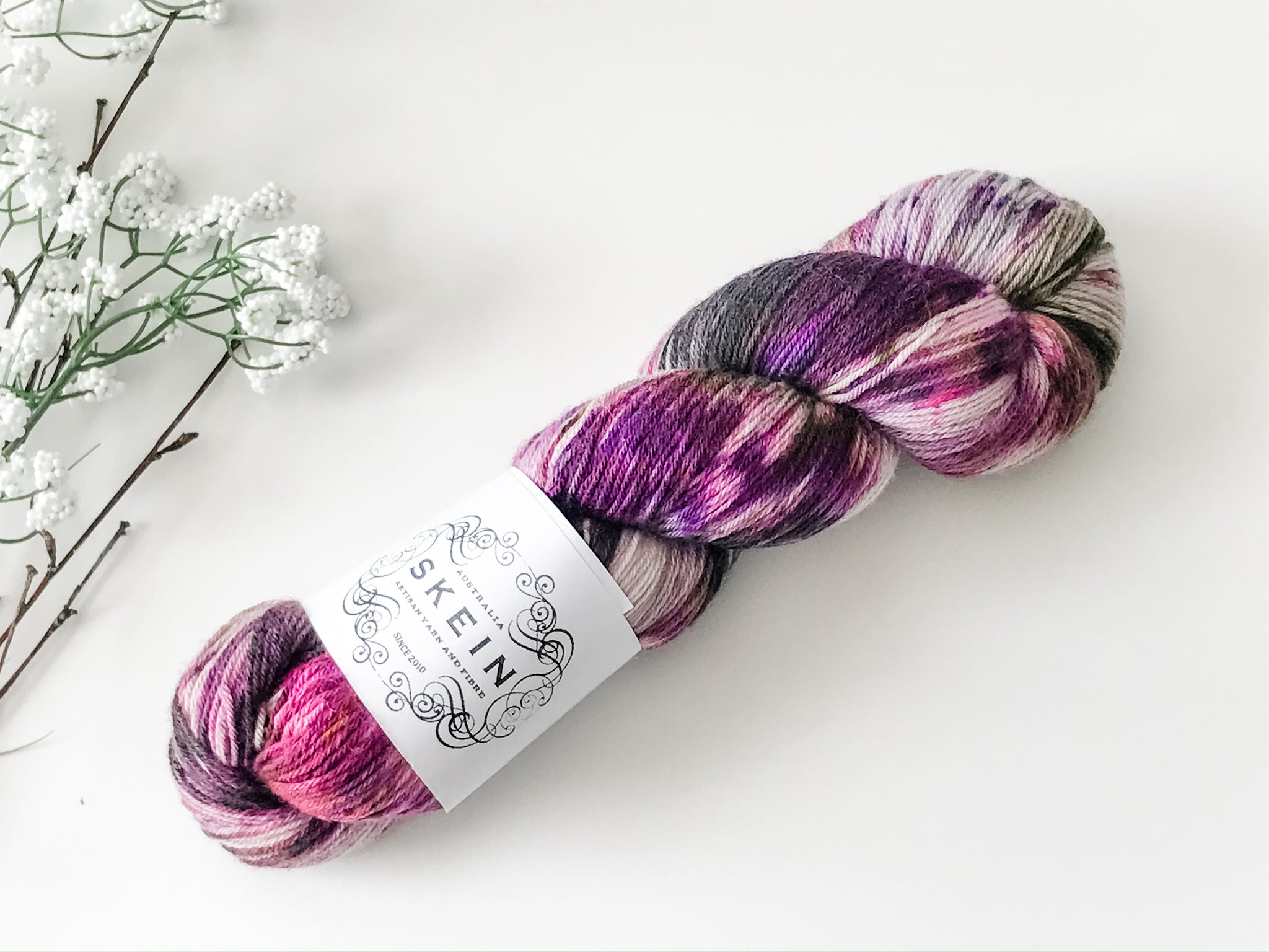 Skein Top Draw Sock Midnight Rose - The Handmaker's Bag