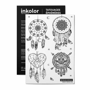 Mini attrape rêves - Pack de 2 tattoos
