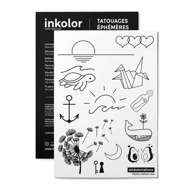 Rêves - Pack de 2 tattoos