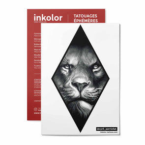 Lion @cyril_perriollat - Pack de 2 tattoos