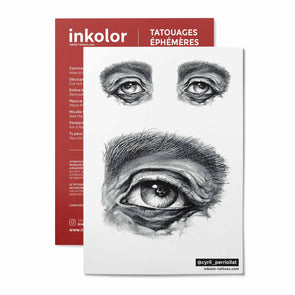 Oeil ancètre @cyril_perriollat - Pack de 2 tattoos