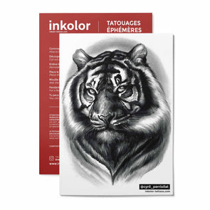 Tigre @cyril_perriollat - Pack de 3 tattoos