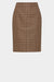 Aria Skirt - Camel Brown Large Multi