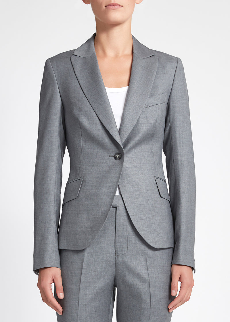 Camila Jacket - Light Grey
