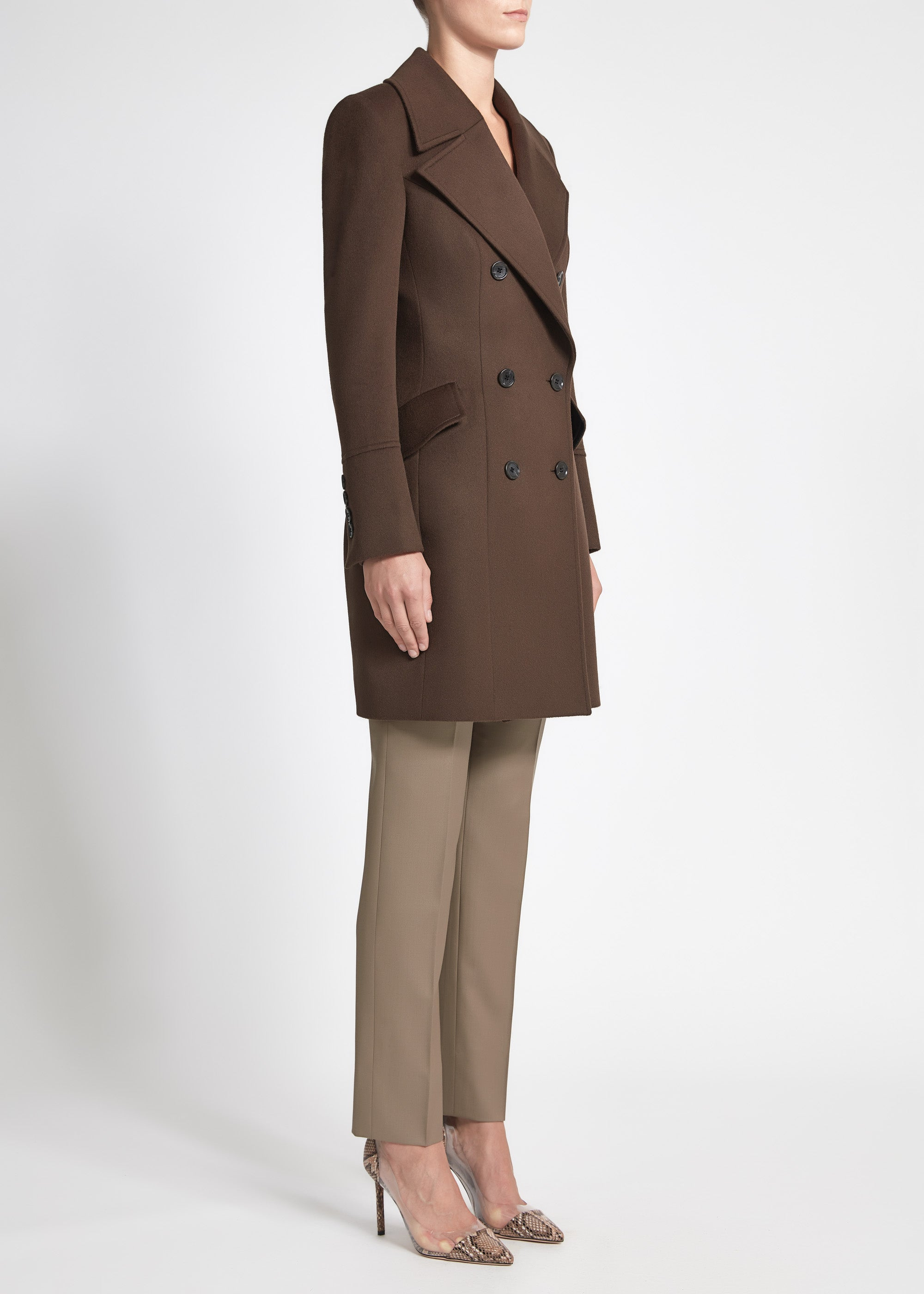 Eleonora Coat - Chocolate
