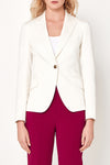Camila Jacket - White Twill