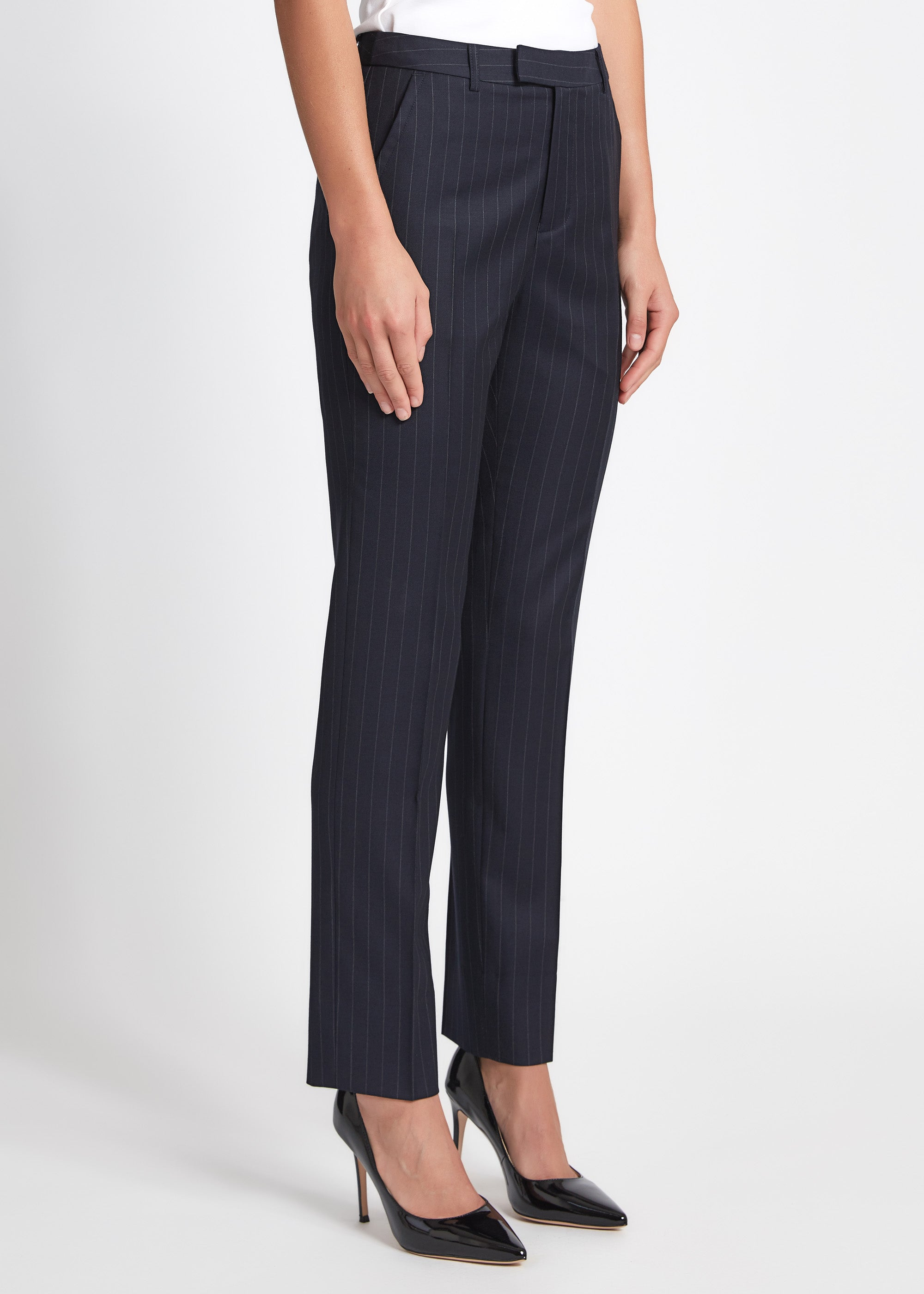 Ruby Pant - Navy Chalk