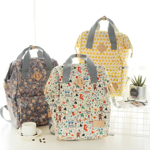 Large Backpack Diaper Bag