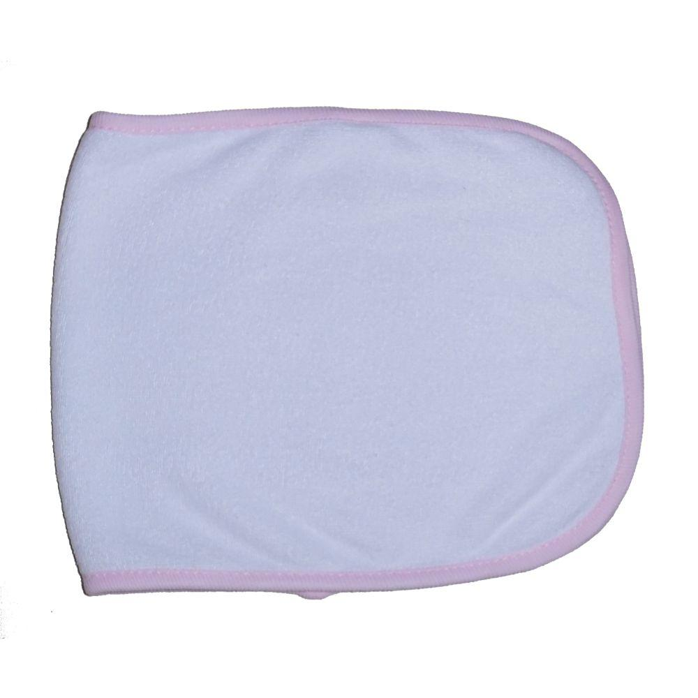 Terry Burpcloth with White Trim One Size
