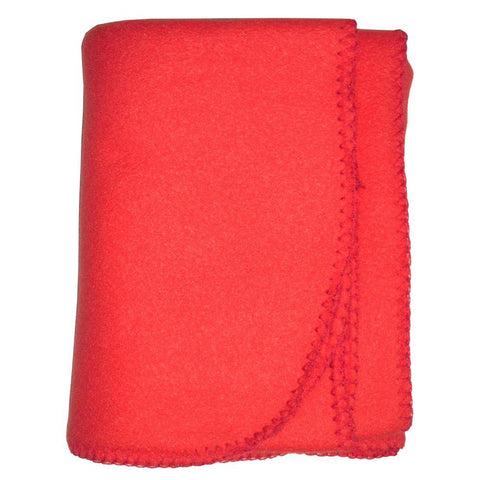 Blank Red Polarfleece Blanket 30x40