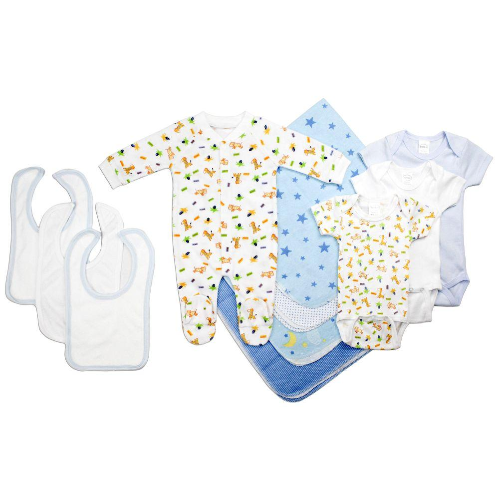 Newborn Baby Boy 11 Pc Layette Baby Shower Gift Set Newborn