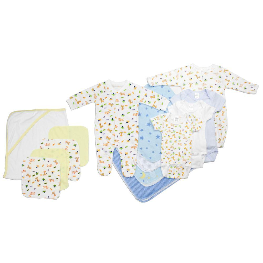 Newborn Baby Boy 14 Pc Layette Baby Shower Gift Set Newborn