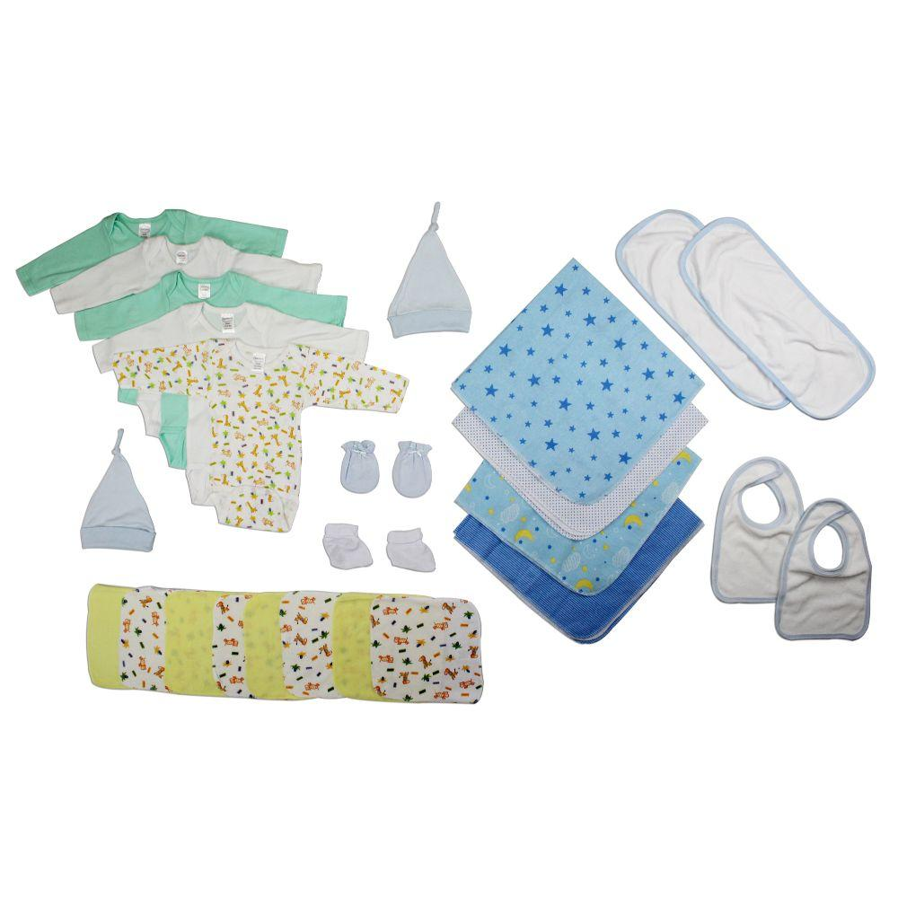 Newborn Baby Boys 17 Pc Layette Baby Shower Gift Set Newborn