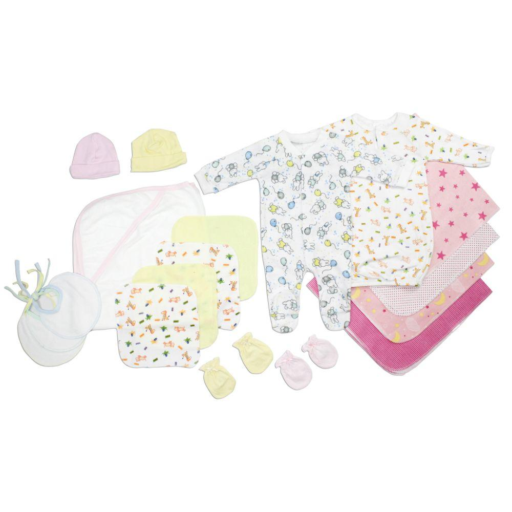 Newborn Baby Girls 18 Pc Layette Baby Shower Gift Set Newborn