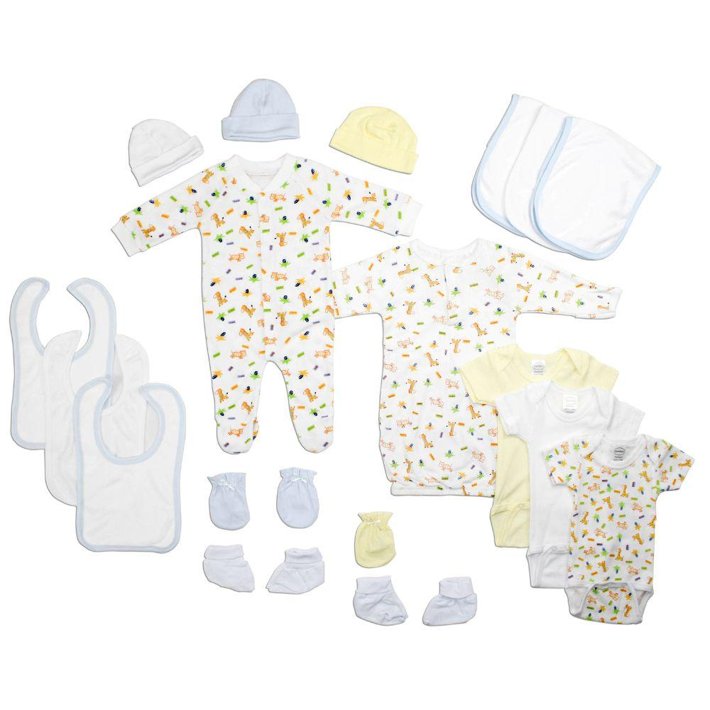 Newborn Baby Boys 18 Pc Layette Baby Shower Gift Set Newborn
