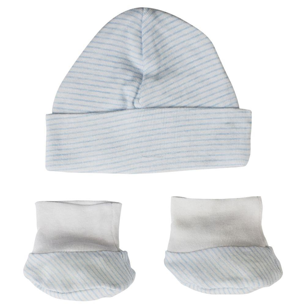 Baby Cap and Bootie Set Newborn