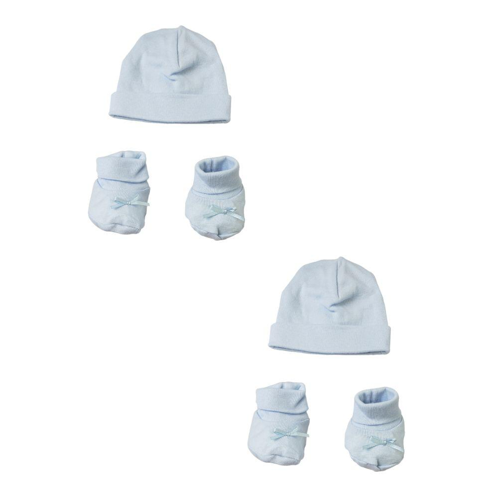 Preemie Cap and Bootie - 4 Pc Set Preemie