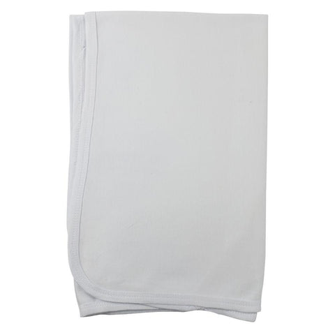 White Receiving Blanket 30x40