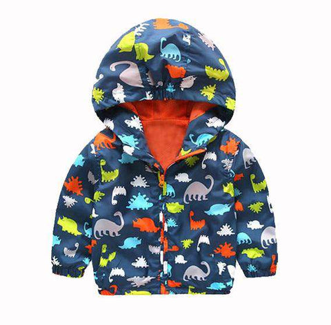 Dinosaur Waterproof Windbreakers - Infant Route
