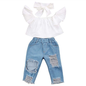 Not Your typical Girl 3Pcs Outfit - Infant Route