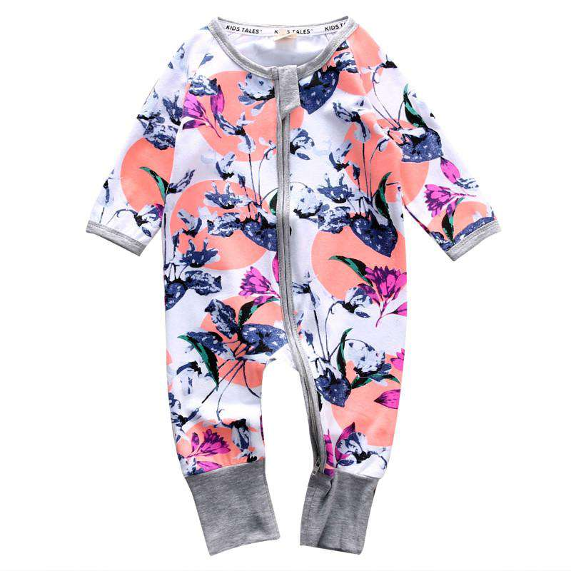Long Sleeve Baby Girls Rompers - Infant Route