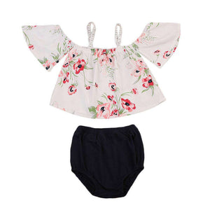 Floral Off Shoulder set