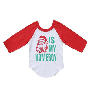 Santa Is my homeboy long sleeve - Infant Route