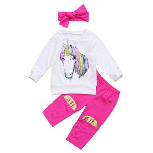 Unicorn 3pcs Set