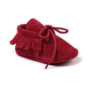Suede leather Autumn Moccasins - Infant Route