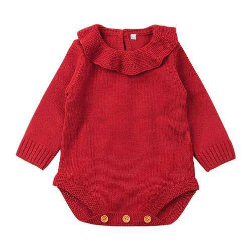Autumn knitted Romper - Infant Route