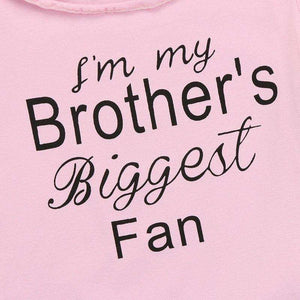 """I'm My Brothers Biggest Fan"" Set - Infant Route"